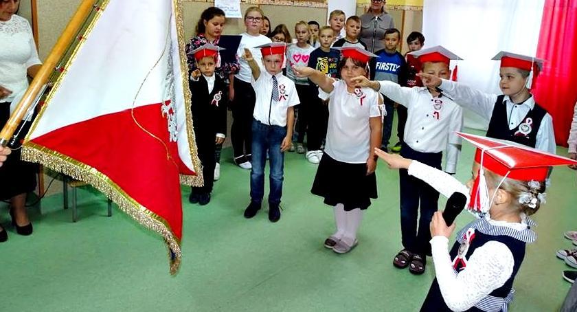 edukacja, Ślubowali Goławinie - zdjęcie, fotografia