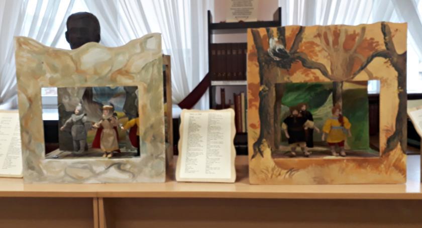 wystawy, bajkach bibliotece - zdjęcie, fotografia