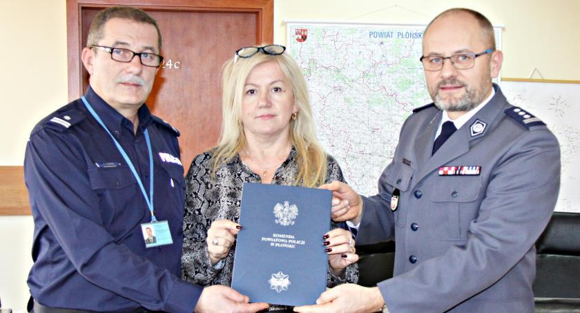 edukacja, Dalsza współpraca policji Czerwińsk - zdjęcie, fotografia