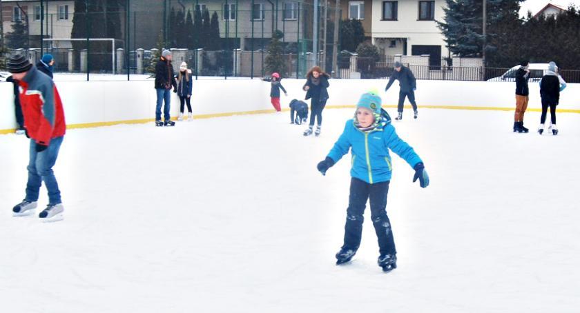 rekreacja, grudnia rusza lodowisko - zdjęcie, fotografia
