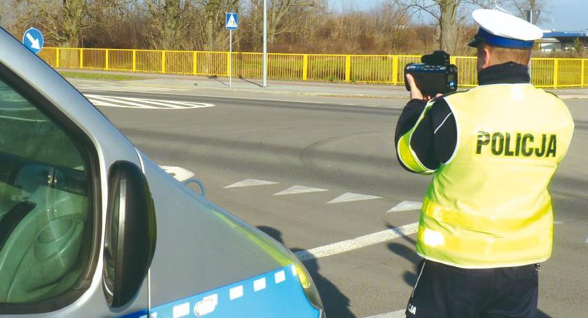 """policja na drodze, stycznia akcja """"Prędkość""""! - zdjęcie, fotografia"""