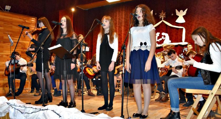 koncerty, Kolędowanie koncertowe sochocińskim - zdjęcie, fotografia