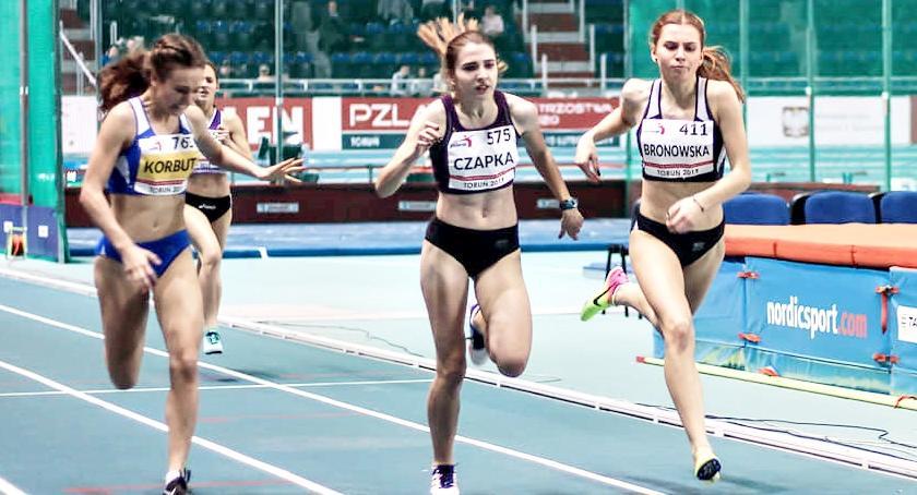 lekkoatletyka, Zuzanna Bronowska brązem mistrzostw Polski - zdjęcie, fotografia