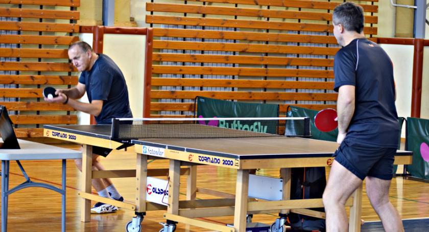 tenis stołowy, Skowyrski - zdjęcie, fotografia