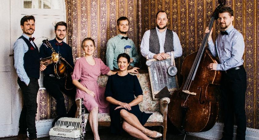 zaproszenia, Koncert Warszawskiej Orkiestry Sentymentalnej - zdjęcie, fotografia