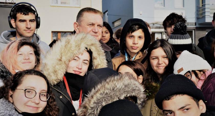 samorząd, Młodzież Izraela gościła Płońsku - zdjęcie, fotografia