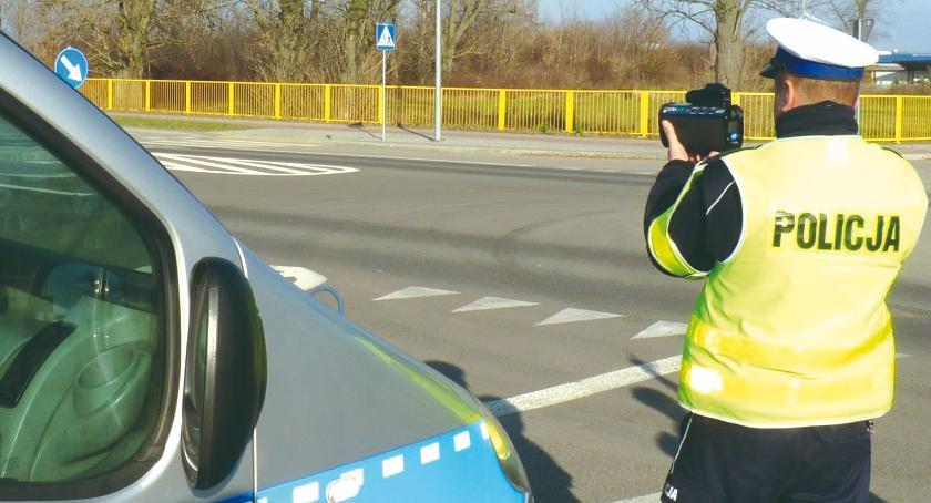 policja na drodze, Kolejne prawko prędkość - zdjęcie, fotografia