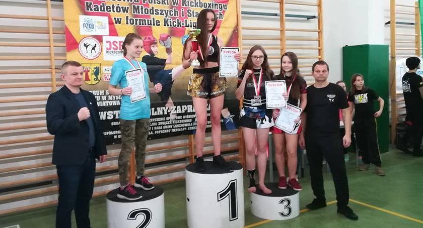 kickboxing, Sandra medal - zdjęcie, fotografia