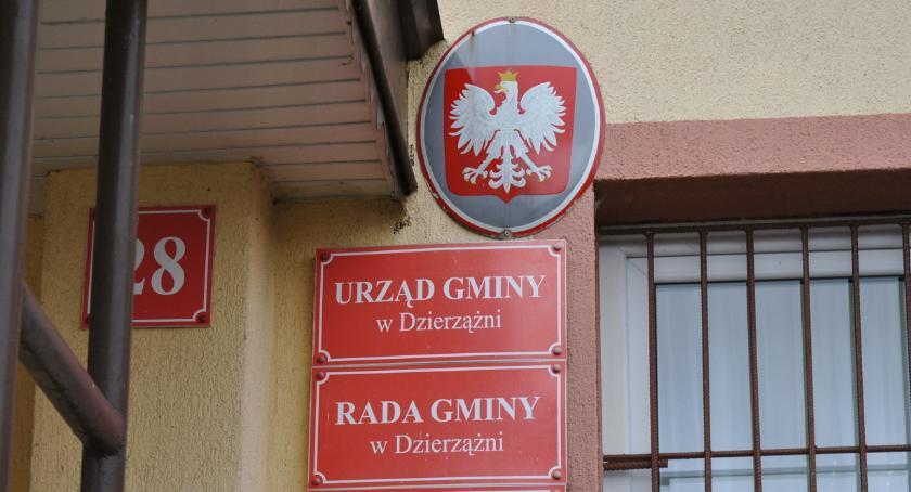 samorząd, Sołtysi gminie Dzierzążnia wybrani - zdjęcie, fotografia