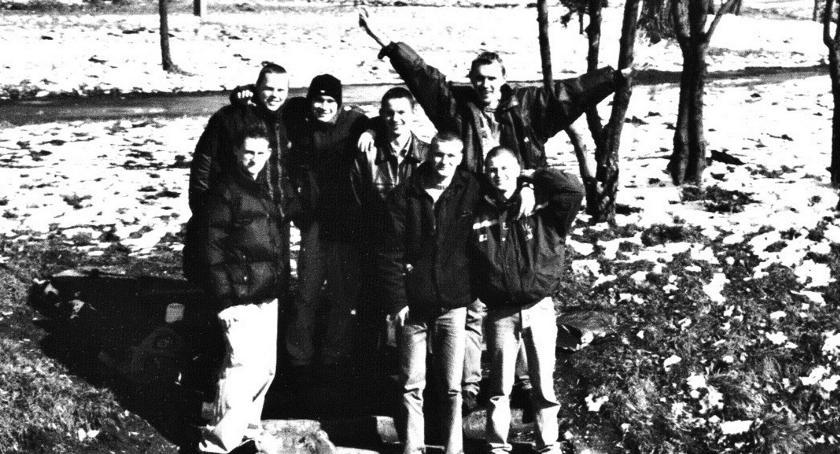 Retro Płońszczak, witano pierwszą wiosnę wieku - zdjęcie, fotografia