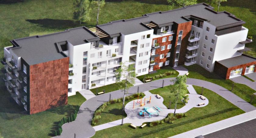 inwestycje, Ustalili lokalizację nowego bloku - zdjęcie, fotografia