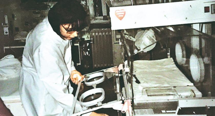 Retro Płońszczak, Kadry poprzedniego wieku pierwszy inkubator WOŚP - zdjęcie, fotografia