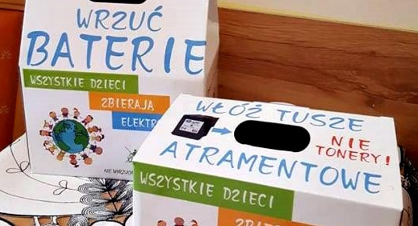 inicjatywy, Prowadzą zbiórkę elektrośmieci - zdjęcie, fotografia