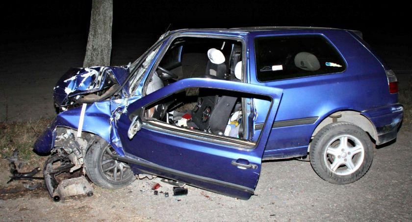 wypadki, latek zginął wypadku Goszczycach - zdjęcie, fotografia