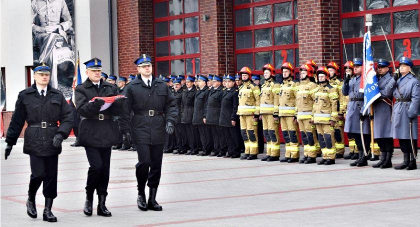święta/uroczystości, Strażacy oficjalnie nowej siedzibie - zdjęcie, fotografia