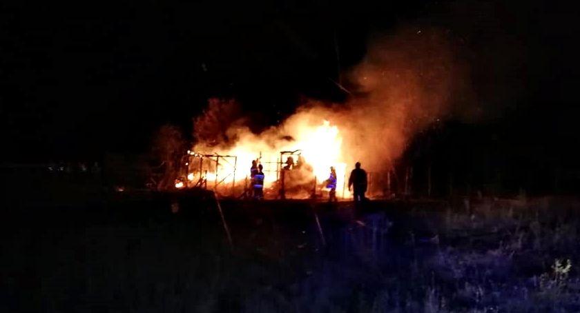 straż w akcji, Strażackie pigułce sporo pożarów - zdjęcie, fotografia