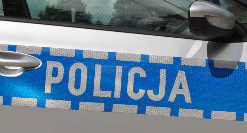 policja na drodze, Prawko czerwone światło - zdjęcie, fotografia