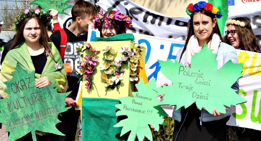 imprezy szkolne, Ekologicznie Dzierzążni - zdjęcie, fotografia