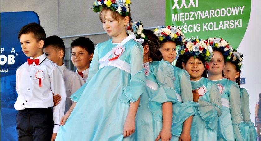 konkursy, Patriotyczna scena Baboszewie - zdjęcie, fotografia