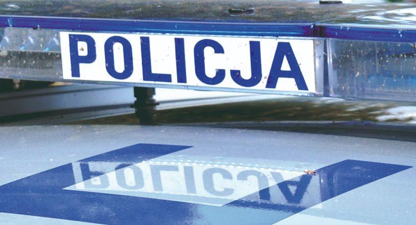 policja na drodze, Dopiero dostał prawo jazdy stracił - zdjęcie, fotografia