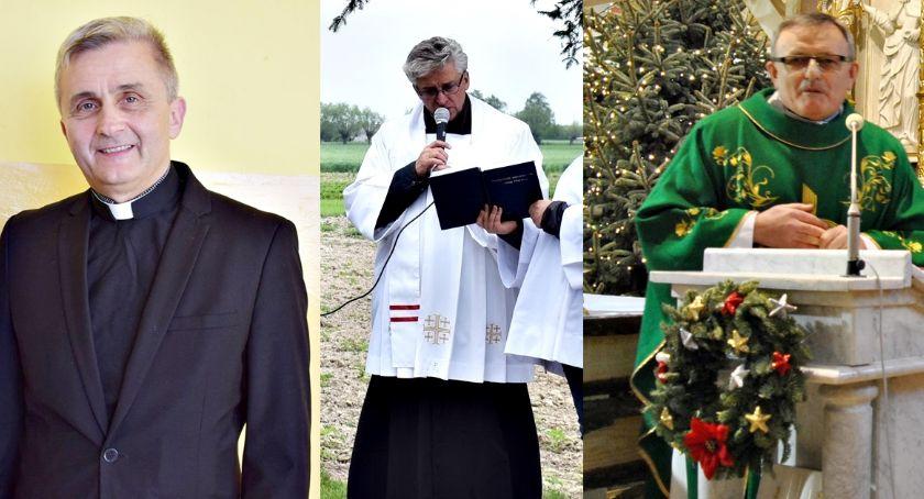 religijnie, Zmiany proboszczów trzech parafiach Królewie Chociszewie Michała Płońsku - zdjęcie, fotografia