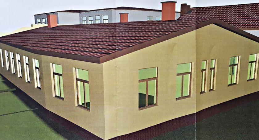 inwestycje, Dokończą rozbudowę szkoły Krajkowie - zdjęcie, fotografia