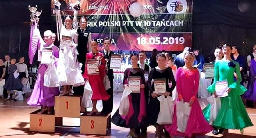 sukcesy, Wytańczyli trzecie miejsce - zdjęcie, fotografia