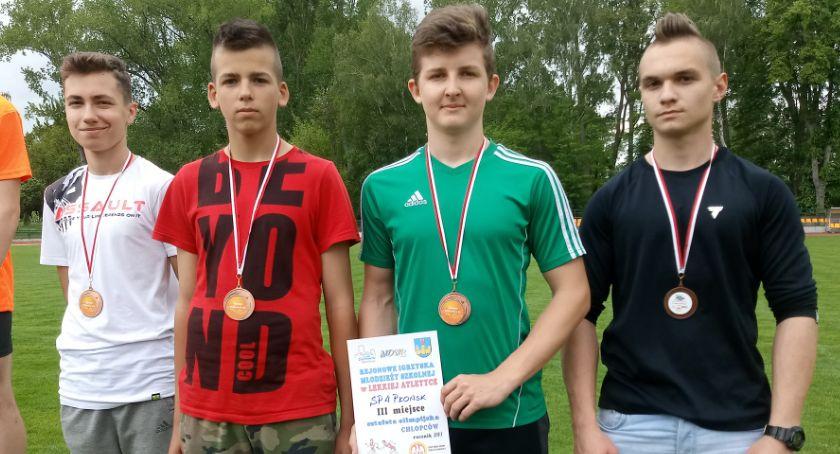 lekkoatletyka, medali Płońsk rejonie - zdjęcie, fotografia