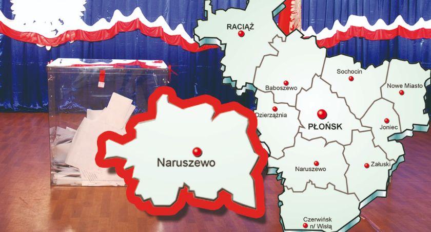 polityka, gminie Naruszewo - zdjęcie, fotografia