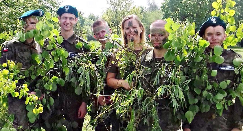 edukacja, Taktyczno wojskowe manewry Chełmnie - zdjęcie, fotografia