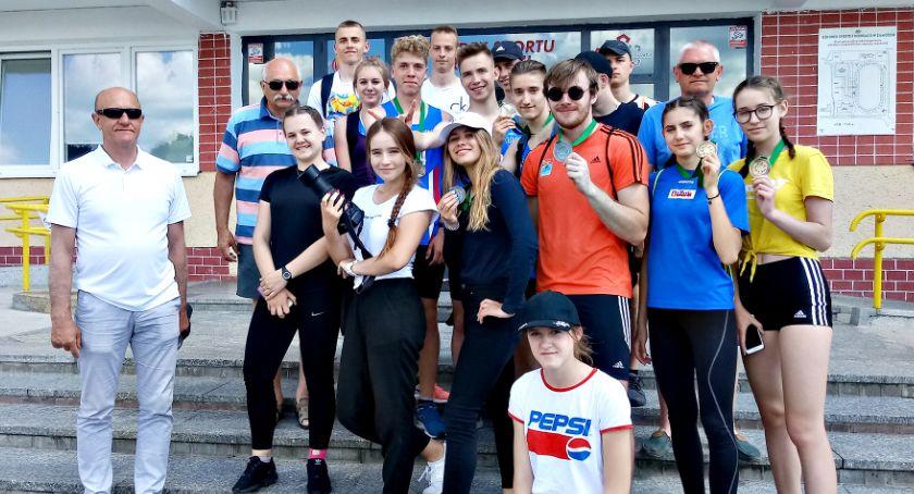 lekkoatletyka, złota srebra jeden brąz lekkoatletów mistrzostwach Polski - zdjęcie, fotografia