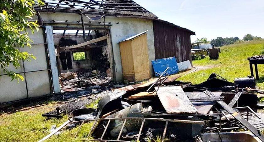 straż w akcji, Strażackie pigułce najgroźniej Skwarach Strzembowie - zdjęcie, fotografia