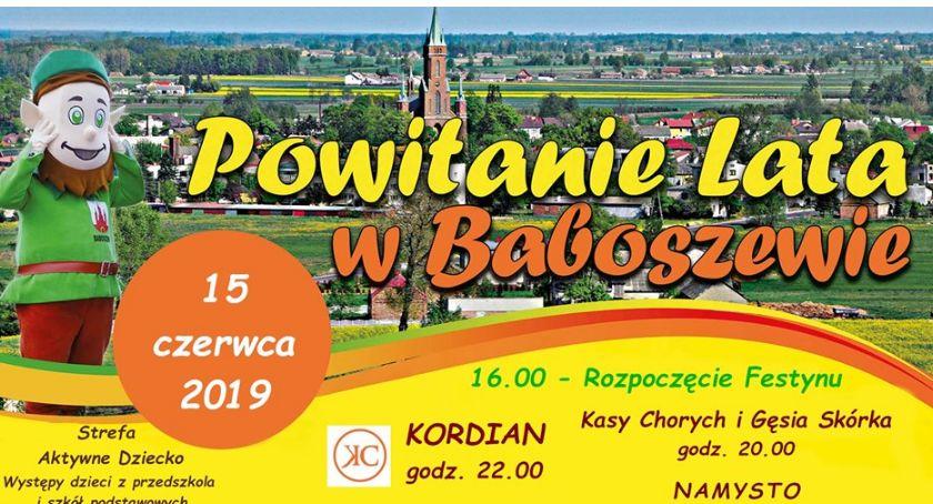 zaproszenia, Powitają Baboszewie - zdjęcie, fotografia