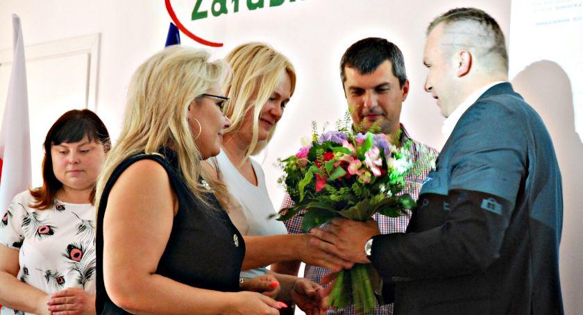 samorząd, Wotum zaufania absolutorium wójta Załuskach - zdjęcie, fotografia
