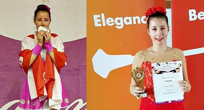 sukcesy, Aleksandra mażoretkowych mistrzostwach Europy - zdjęcie, fotografia