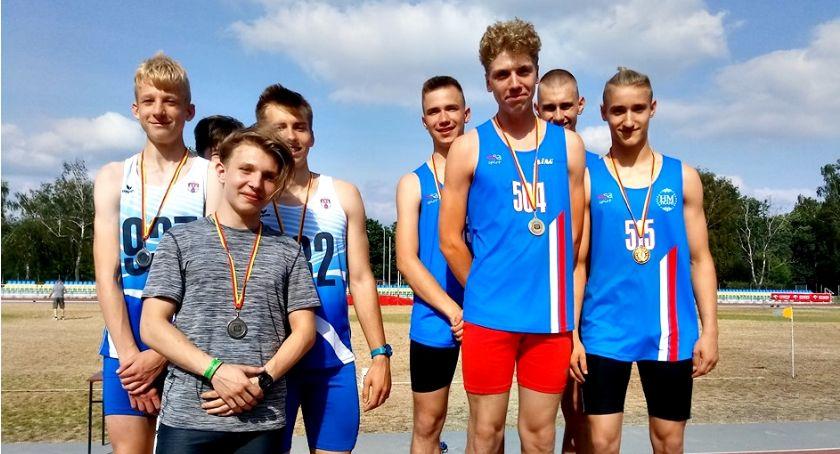 lekkoatletyka, Jedenaście medali mistrzostwach Mazowsza - zdjęcie, fotografia