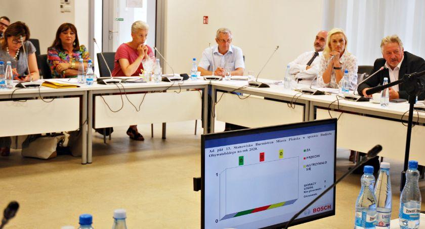 samorząd, Sesja miejskiej zawieszenie budżetu obywatelskiego zaciągnięcie kredytu - zdjęcie, fotografia