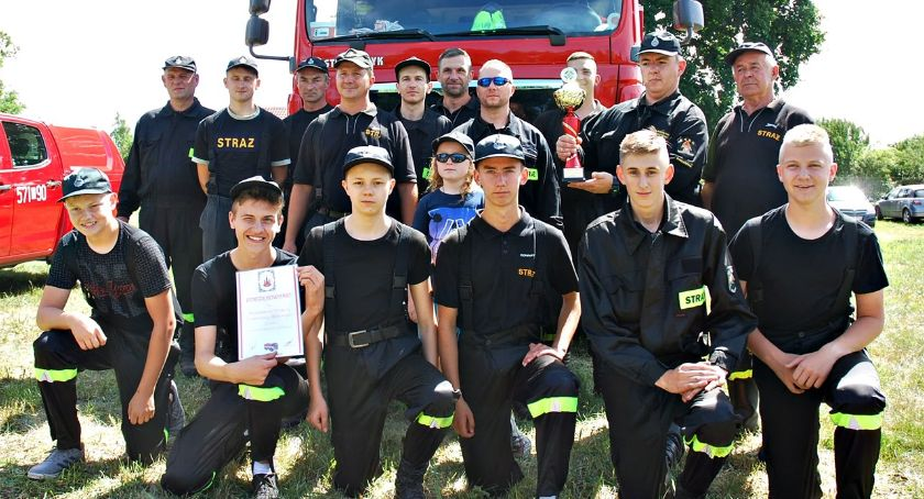 zawody strażackie, gminnych zawodach strażackich najlepsza Baboszewo - zdjęcie, fotografia