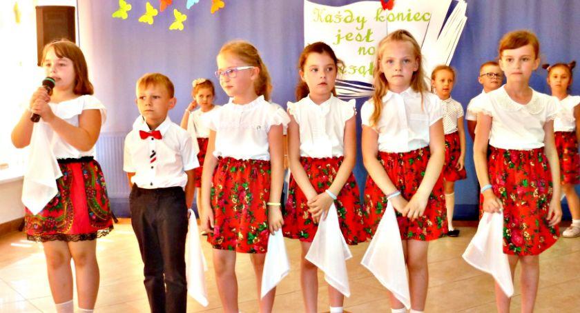 imprezy przedszkolne, Każdy koniec nowym początkiem czyli pożegnanie przedszkolaków Baboszewie - zdjęcie, fotografia