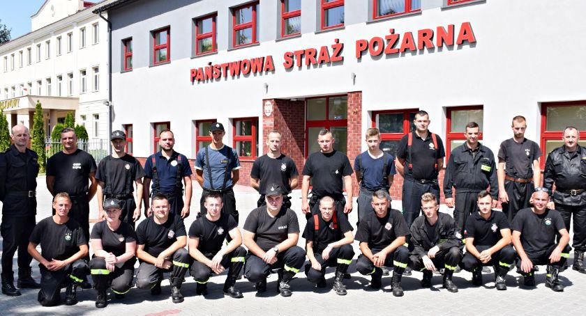 organizacje/stowarzyszenia, Szkolili dowódcy - zdjęcie, fotografia