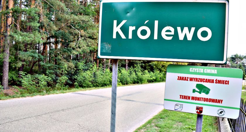 ekologia, Zaśmiecasz gminie Joniec możesz fotopułapce - zdjęcie, fotografia