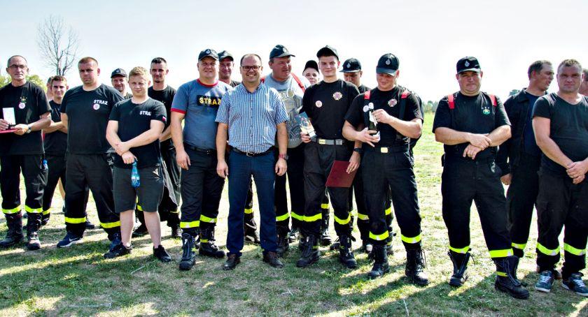 zawody strażackie, Chociszewo najlepsze gminie Czerwińsk - zdjęcie, fotografia