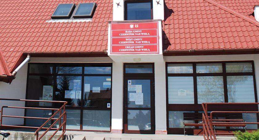 ogłoszenia samorządowe, Wójt gminy Czerwińsk informuje wywieszeniu wykazu nieruchomości przeznaczonych dzierżawy - zdjęcie, fotografia