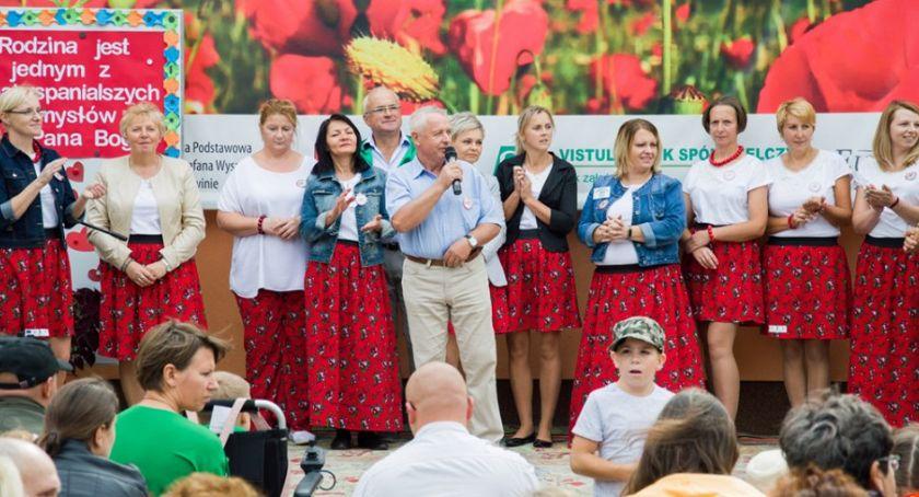 festyny/pikniki, Pożegnali Goławinie - zdjęcie, fotografia