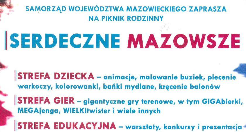 """promocja, Piknik rodzinny """"Serdeczne Mazowsze"""" Ciechanowie - zdjęcie, fotografia"""