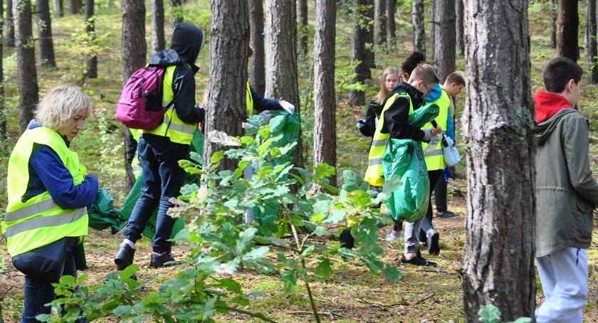 """ekologia, Włączyliśmy akcji """"SprzątaMY las"""" - zdjęcie, fotografia"""