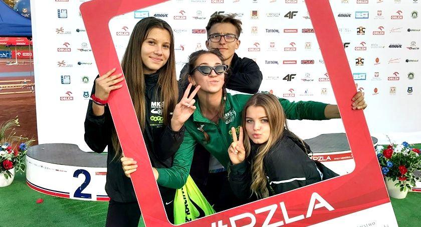 lekkoatletyka, mistrzostwach Polski najlepsze miejsce (ósme) Mateusza Poryzińskiego - zdjęcie, fotografia