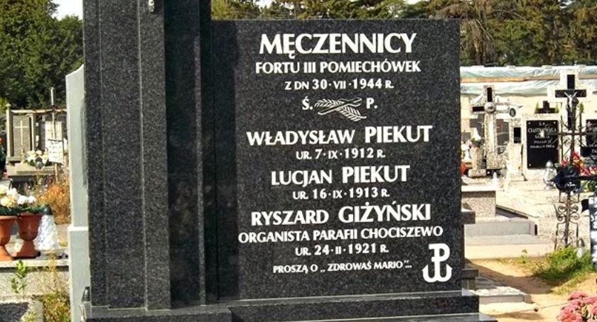 zaproszenia, Odrestaurowano nagrobek ofiar niemieckiego terroru będzie uroczystość Chociszewie - zdjęcie, fotografia