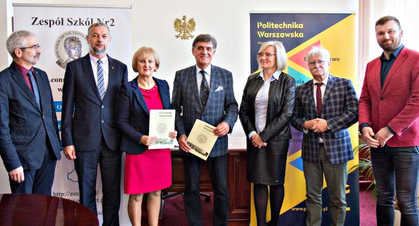 edukacja, Politechnika Płońsk porozumienie współpracy - zdjęcie, fotografia