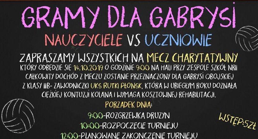 charytatywnie, Zagrają Gabrysi - zdjęcie, fotografia